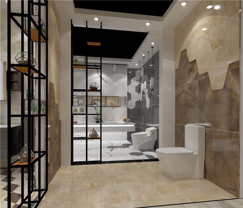 升华陶瓷卫浴空间装修样板