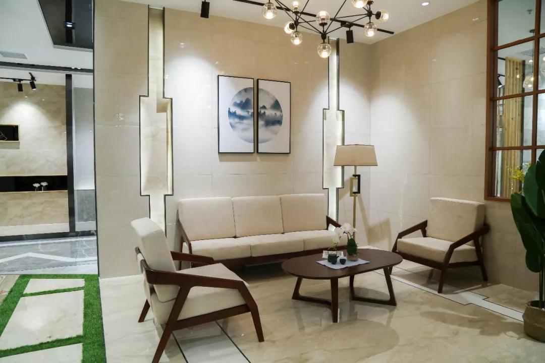 现代时尚|通体大理石瓷砖铺贴下的流行空间